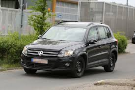 tiguan volkswagen 2015 spyshots all new 2015 volkswagen tiguan will be wider autoevolution