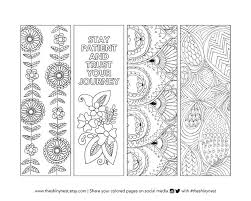 coloring pages bookmarks coloring bookmarks printable coloring page printable bookmark