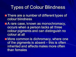 Does Colour Blindness Affect Males Or Females More Chapter 12 Senses Ppt Video Online Download