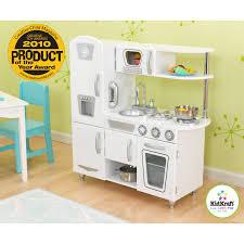 kidkraft retro kitchen piece pink and refrigerator 53160 play