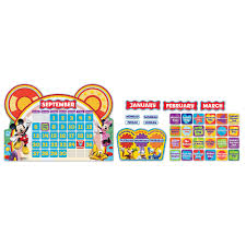 Mickey Mouse Clubhouse Bedroom Set Mickey Mouse Clubhouse Calendar Set Bulletin Board Set Eureka