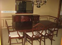 antique 1930 u0027s satinwood dining room suite ebay antique dining