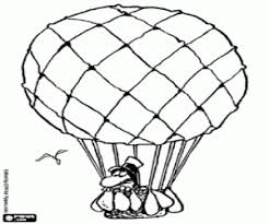 air balloons coloring pages printable games