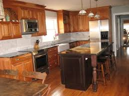 kitchen natural cherry cabinets what floor in natural cherry