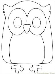 owls pictures cartoons kids coloring