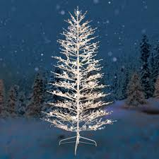 white tree led lights with c6 warm led and 1 on category
