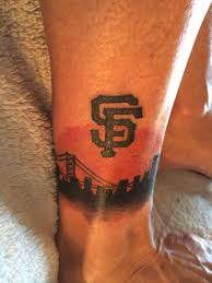 15 best sf giants tattoos images on pinterest san francisco