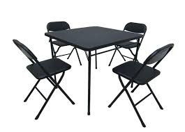 fold up card table check this walmart fold out chair mainstays five piece card table