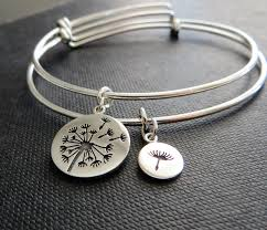 mothers day bracelet of the gift dandelion bangle