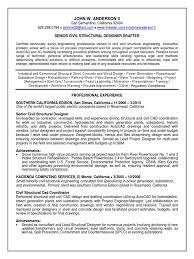 Senior Civil Engineer Resume Sample Civil Planning Engineer Resume Resume For Your Job Application