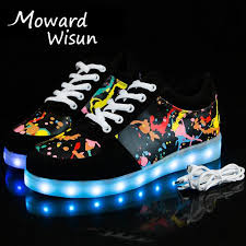 light up sole shoes shoes retro papa