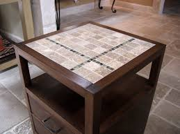 end tables designs tile top end table ana white diy square cream