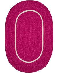 Round Braided Rugs For Sale Pre Black Friday Sales On Silhouette Sl78 Magenta Braided Rug 6