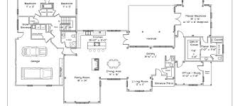 Wrap Around Porch Floor Plans One Story House Plans With Wrap Around Porch One Story Floor