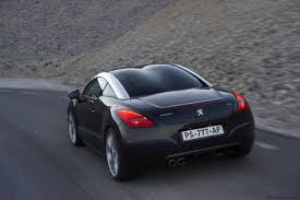 peugeot luxury car 2010 peugeot rcz sports coupe orders almost exceed allocation