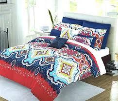 Moroccan Coverlet Max Studio Coastal Quilts Max Studio Bedding Blue Max Studio 3pc