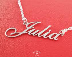 cheap name necklaces cheap name necklace etsy