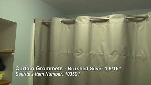 Traverse Curtain Rod Installation Instructions by Curtain Grommet Installation Large Grommets For Up To 1 3 8