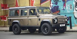 land rover brown land rover defender limited edition autocar regeneration