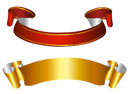 gold ribbons gold and banners transparent png picture gallery