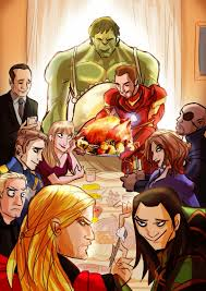 thanksgiving marvel marvel marvel dc and