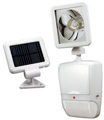 Motion Detector Light Outdoor by Outdoor Motion Lights Heath Zenith Sl 7210 Wh Solar Powered Led