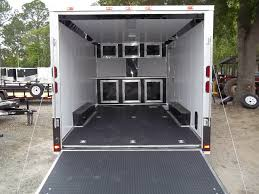 V Nose Enclosed Trailer Cabinets by 29 Best Enclosed Carhauler Trailers Images On Pinterest Trailers