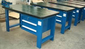 Rolling Work Benches Garage Metal Workbench Worktable With Metal Drawer Buy Garage