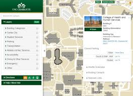 Western Washington University Campus Map by Maps Facilities Management Unc Charlotte