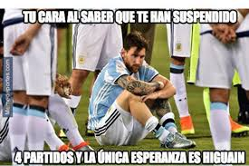 Argentina Memes - los memes por la dura ca祗da de argentina contra bolivia cnn chile