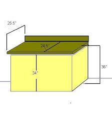 kitchen counter height measurements diy home repair