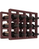 deal alert creekside 64 bottle table wine rack pine by