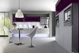 cuisine grise et aubergine stupefiant gris 55 beau photographie de