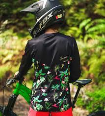 mountain bike jacket dharco women u0027s mtb long sleeve gravity jersey flamingo party