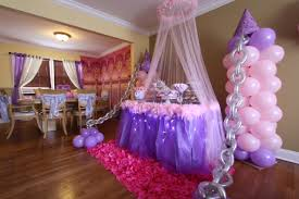 simple birthday decoration at home interior design awesome birthday princess theme decoration home