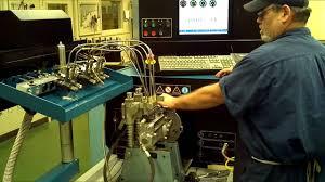 simms diesel pump testing youtube