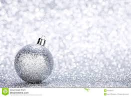 silver christmas silver christmas stock image image of sphere glitter 35105057