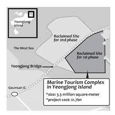 s korean gov u0027t to build marine tourism complex near incheon