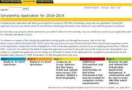 scholarship application preview university of michigan flint