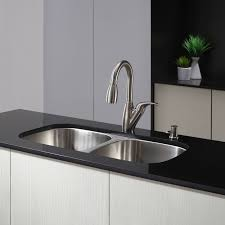 Kraus Kitchen Sinks Kraus Kbu22 Stainless Steel 32 1 4 Basin 16
