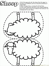 coloring pages lost sheep coloring