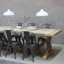grand duke reclaimed wood dining table by rust collections