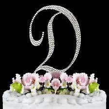 monogram cake toppers ebay