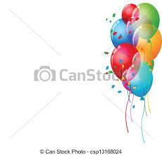 vector illustration of birthday card background vector