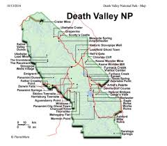 Map Of Death Valley A Beautiful Death Valley U2014 Post It Pari