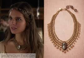 reign tv show hair beads reign season 1 page 3 shop your tv