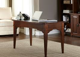 Writing Desks For Home Office Leyton I Home Office Writing Desk With Poplar Solids Birch