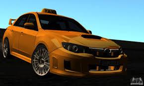 subaru station wagon wrx subaru impreza wrx sti 2011 taxi for gta san andreas