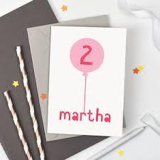 personalised birthday cards notonthehighstreet com