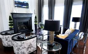fabrics and home interiors toile fabric add cool color and chic pattern to contemporary